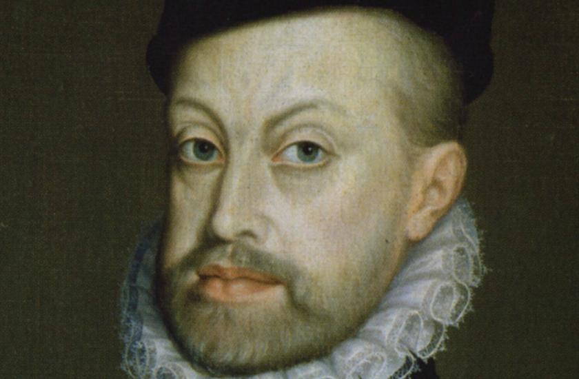 Resultado de imagen para Fotos de la proclamación de Felipe II