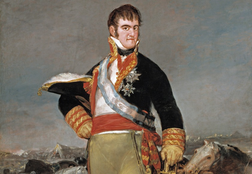 Fernando VII Felipe VI Letizia Leonor Sofia Juan Carlos Reino de España Casa Real española