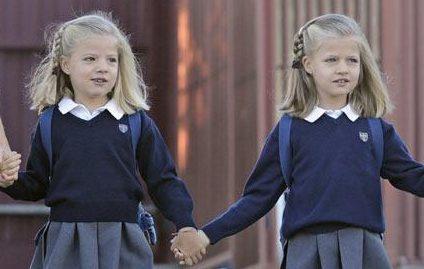 Princesa Leonor e Infanta Sofia Felipe VI Letizia Leonor Sofia Juan Carlos Reino de España Casa Real española