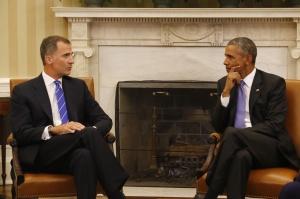 Felipe VI con Barack Obama