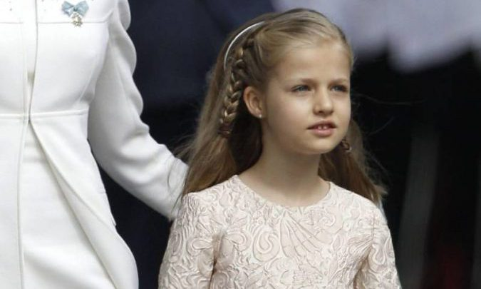 10 cumpleaños Leonor de Borbon Felipe VI Letizia Leonor Sofia Juan Carlos Reino de España Casa Real española