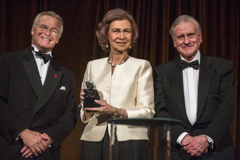 Felipe VI Letizia Leonor Sofia Juan Carlos Reino de España Casa Real española Hadrian Award