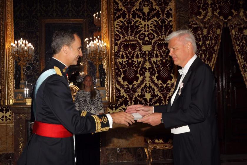 Cartas Credenciales Felipe VI Letizia Leonor Sofia Juan Carlos Reino de España Casa Real española