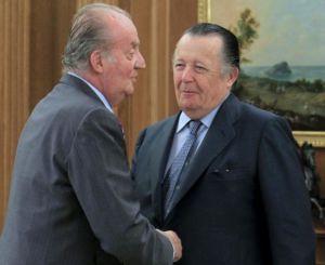 Infante Don Carlos con el rey juan carlos