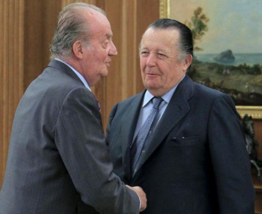 Infante Don Carlos con el rey juan carlos Felipe VI Letizia Leonor Sofia Juan Carlos Reino de España Casa Real española