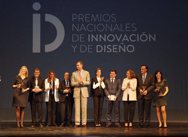 Felipe VI Letizia Leonor Sofia Juan Carlos Reino de España Casa Real española Premios Nacionales de Innovación y Diseño 2015