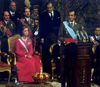 proclamación juan carlos IFelipe VI Letizia Leonor Sofia Juan Carlos Reino de España Casa Real española
