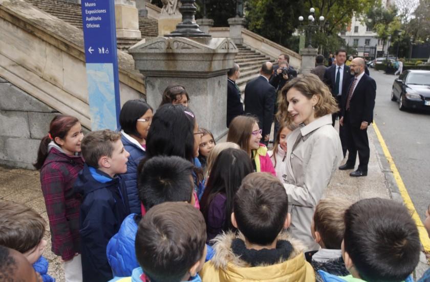 Letizia seminario cooperacion España 2030 Felipe VI Letizia Leonor Sofia Juan Carlos Reino de España Casa Real española