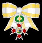 cruz de plaza (lazo de dama) isabel catolica