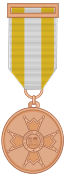 medalla de bronce isabel catolica