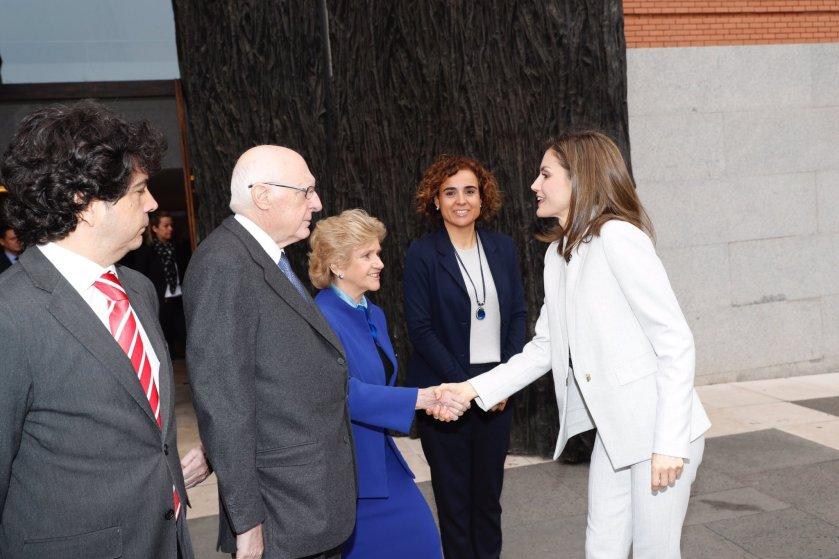 La Reina Letizia preside día mundial enfermedades raras