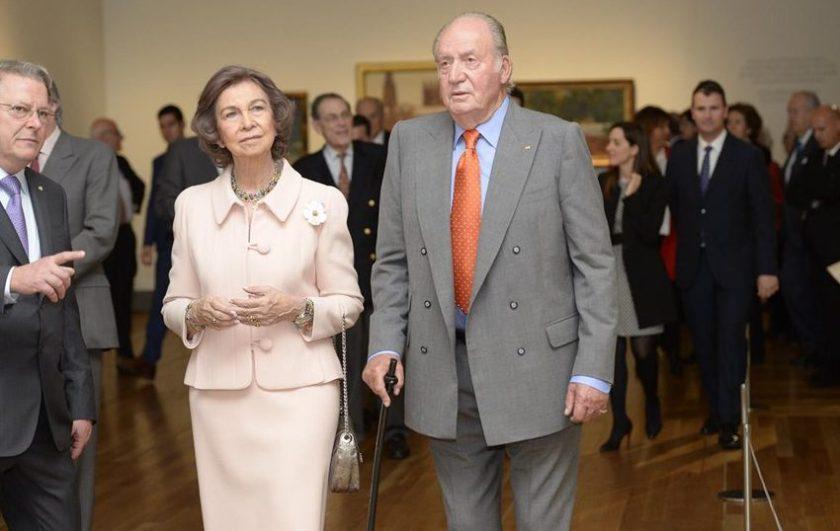 Don Juan Carlos Y Doña Sofia De Nuevo Juntos En Roma Casa
